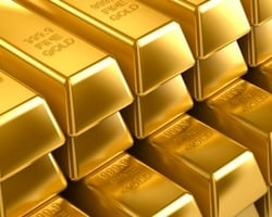 Gold price falls as US economy shows promise