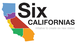Proposal to divide California into six states – Six Californias