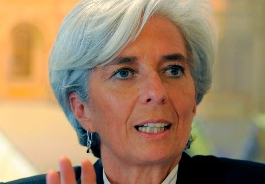 Global deflation is rising risk, says IMF's Christine Lagarde