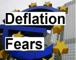 Eurozone deflation fears grow