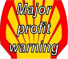 Shell profit warning, cuts spending