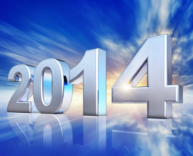 Retail sales forecast for 2014, 4.1% growth, US