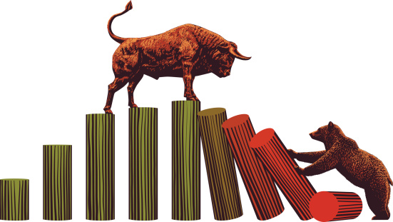 Bull and Bear -Stock Market Trends