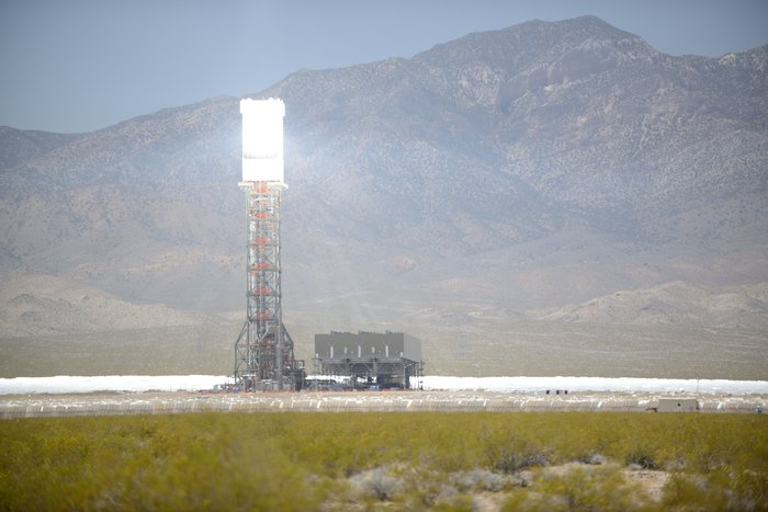 Giant solar thermal power plant opens in California