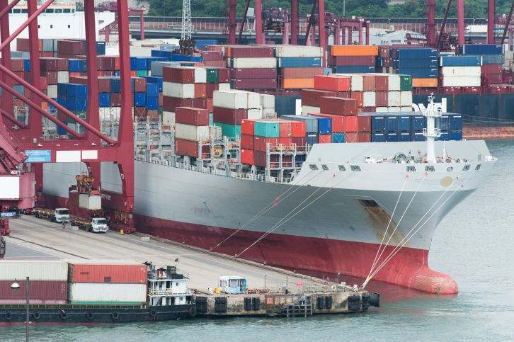 Chinese exports fell steeply in February