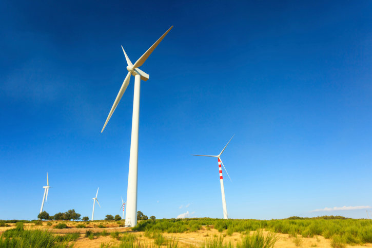 American wind power 4% of national power grid