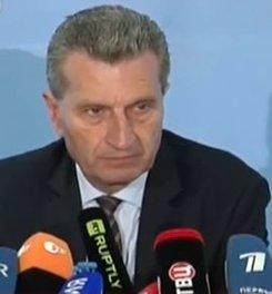 Mr. Oettinger, EU Energy Minister