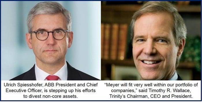 CEOs of ABB and Trinity