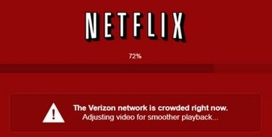 Verizon versus Netflix row
