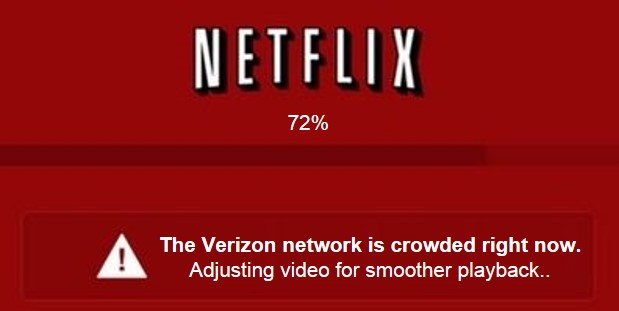 Netflix vs. Verizon