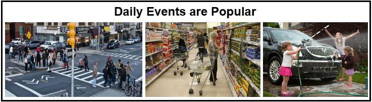 Everyday events photos