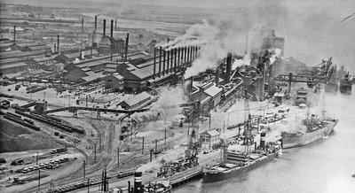 BHP Steelworks Newcastle NSW