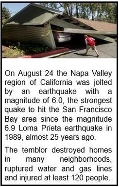 Napa Valley Earthquake 2014