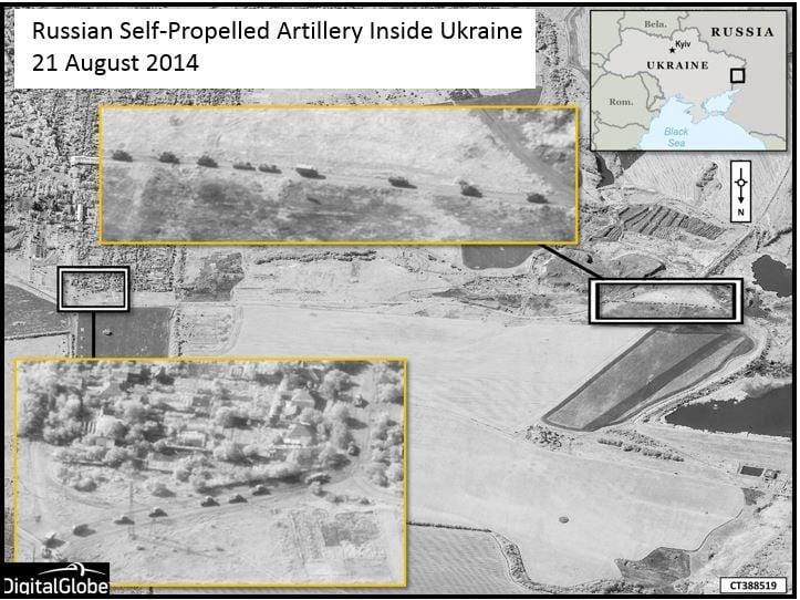 Russian military units within Ukraine