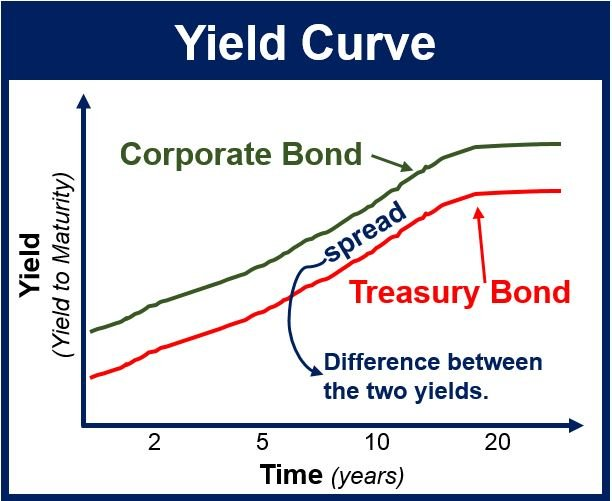 relationship of short and long term interest rate yield curves