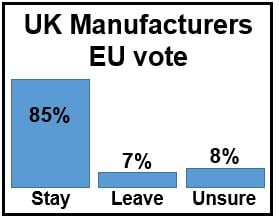 UK Manufacturers' EU vote