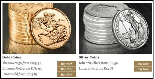 Royal Mint Online Trading Platform
