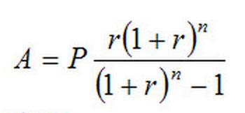 Amortization Schedule Formula