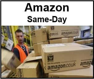 Amazon same day