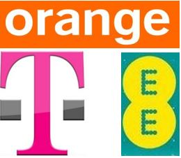 EE Orange T-Mobile