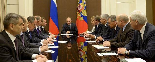 Putin and security council
