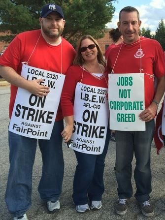 FairPoint Communications strikers lose health coverage ...