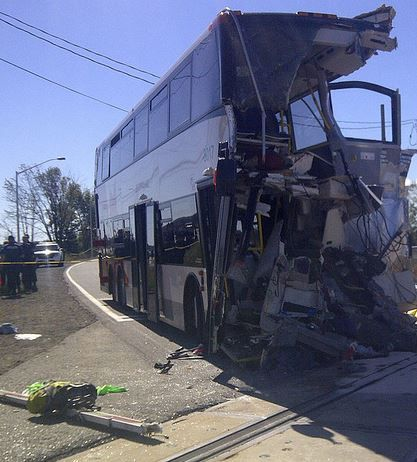 Ottawa Bus-Train collision