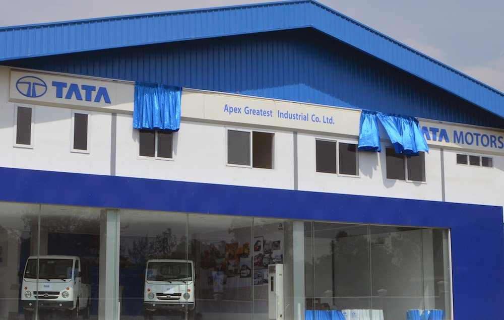Tata Motors new 3-S Dealership in Myanmar