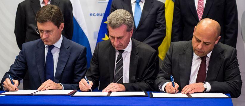 Ukraine-Russia gas deal
