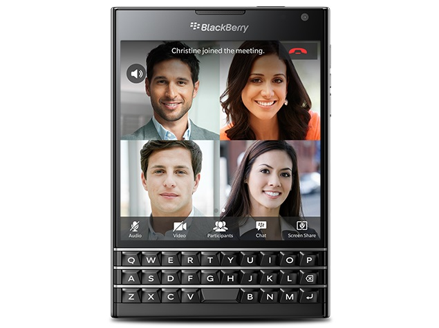 blackberry BBM Meetings app
