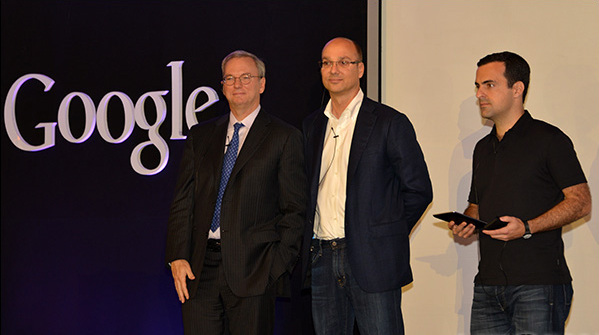 eric schmidt and andy rubin