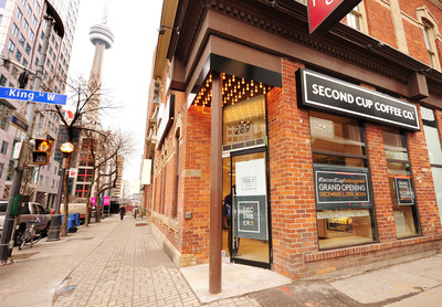 Second Cup Coffee Shop Toronto