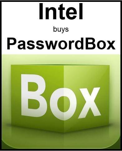 Intel buys PasswordBox
