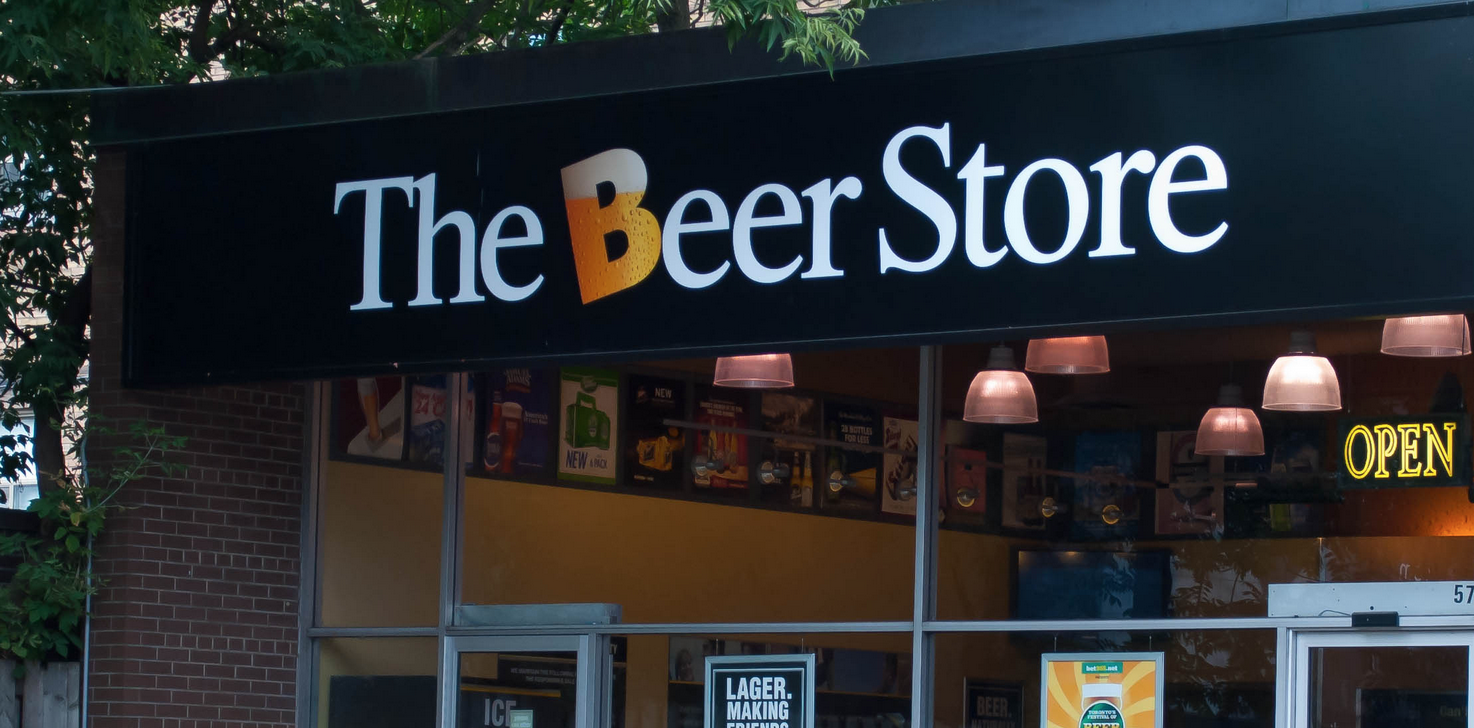 The beer store Toronto