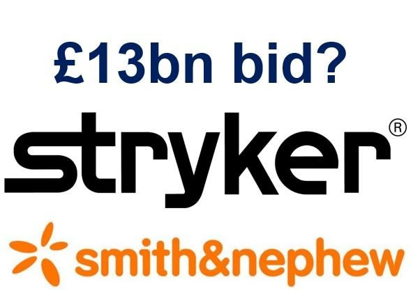 Stryker Smith and Nephew bid