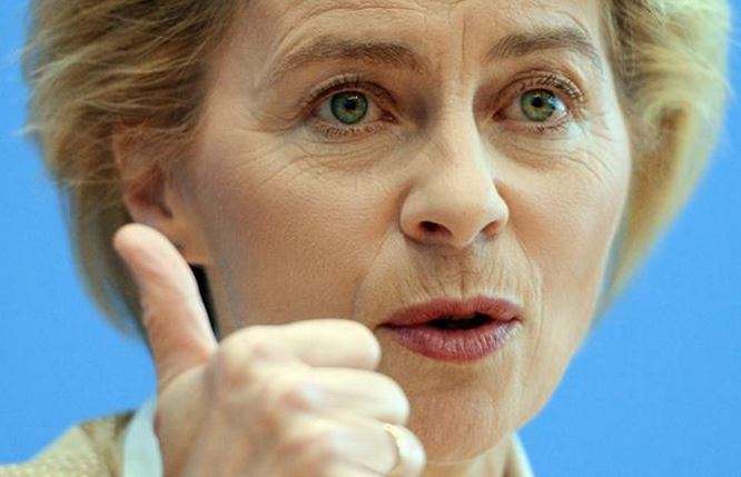 Ursula von de Leyen fingerprint cloned