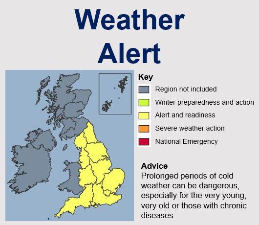 Weather Bomb Alert