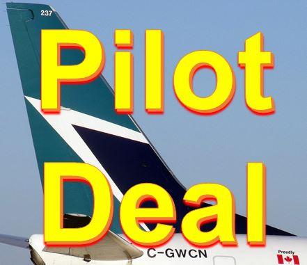 WestJet pilot deal