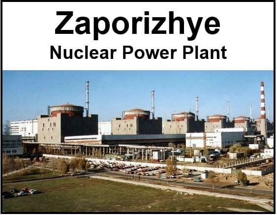 Zaporizhye nuclear power plant