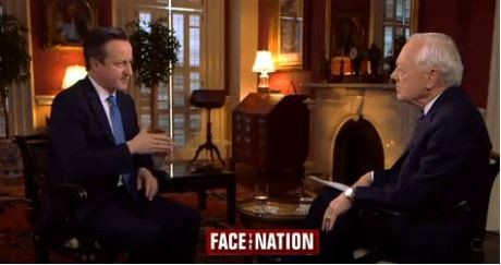 David Cameron Face the Nation