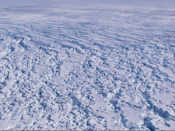 Kapp Mohn outlet glacier