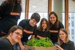 Lettuce on Mars project team