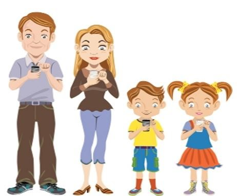 Mobile phone family