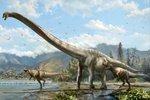 Qijianglong long necked dinosaur