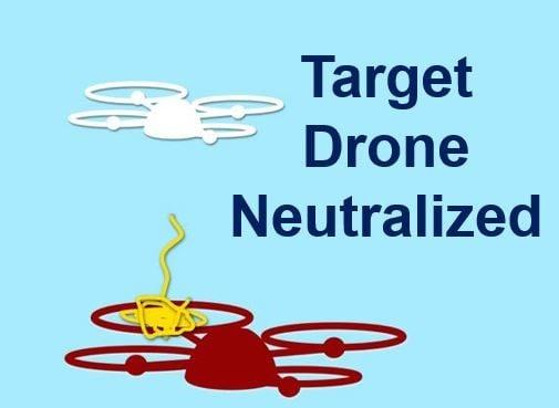 Target drone neutralized