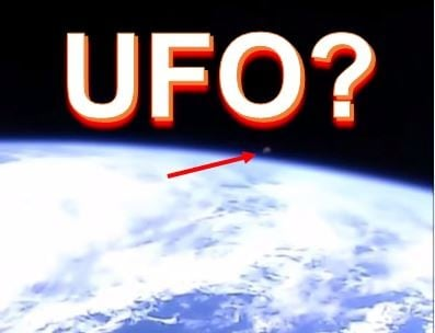 UFO allegedly seen on live footage, then NASA cuts the ...