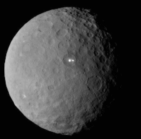 Ceres bright objects