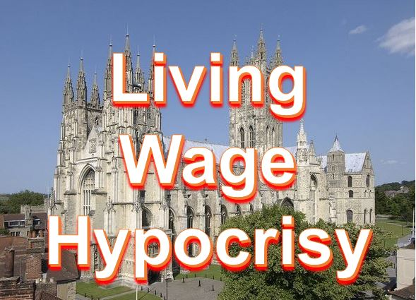 CoE Living Wage Hypocrisy