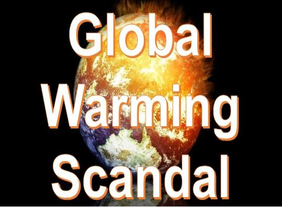 Global warming scandal