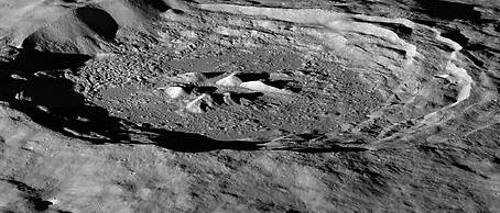 Hayn Crater on the Moon